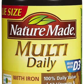 Nature Made is listed (or ranked) 15 on the list The Best Multivitamin Brands
