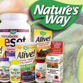 Nature's Way is listed (or ranked) 9 on the list The Best Multivitamin Brands