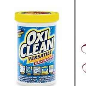 Oxiclean is listed (or ranked) 5 on the list The Best Detergent Brands