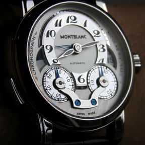 Mont Blanc is listed (or ranked) 22 on the list The Best Watch Brands