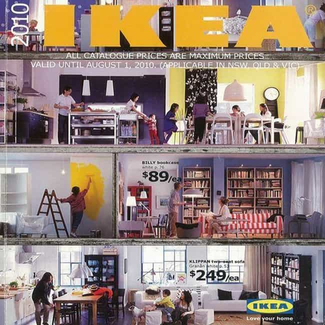 IKEA Catalog is listed (or ranked) 1 on the list 24 Things You Didn't Know About IKEA