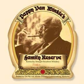 Pappy Van Winkle is listed (or ranked) 4 on the list The Best Bourbon Brands