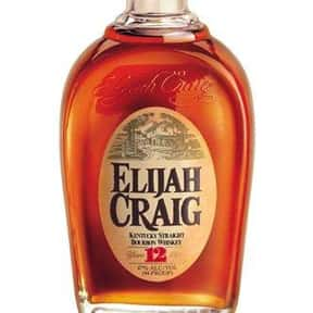 Elijah Craig is listed (or ranked) 7 on the list The Best Bourbon Brands