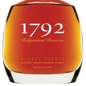 1792 is listed (or ranked) 11 on the list The Best Bourbon Brands
