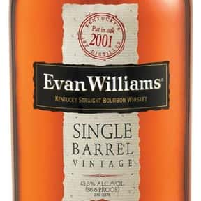Evan Williams is listed (or ranked) 22 on the list The Best Bourbon Brands