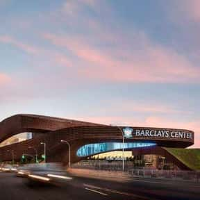 Barclays Center is listed (or ranked) 10 on the list The Best NBA Arenas