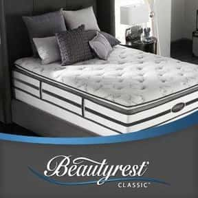 Simmons Beautyrest is listed (or ranked) 1 on the list The Best Mattress Brands