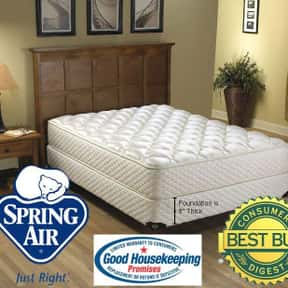 Spring Air is listed (or ranked) 8 on the list The Best Mattress Brands