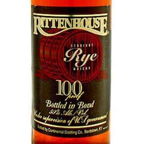 Rittenhouse Rye Whiskey is listed (or ranked) 8 on the list The Best Rye Whiskey