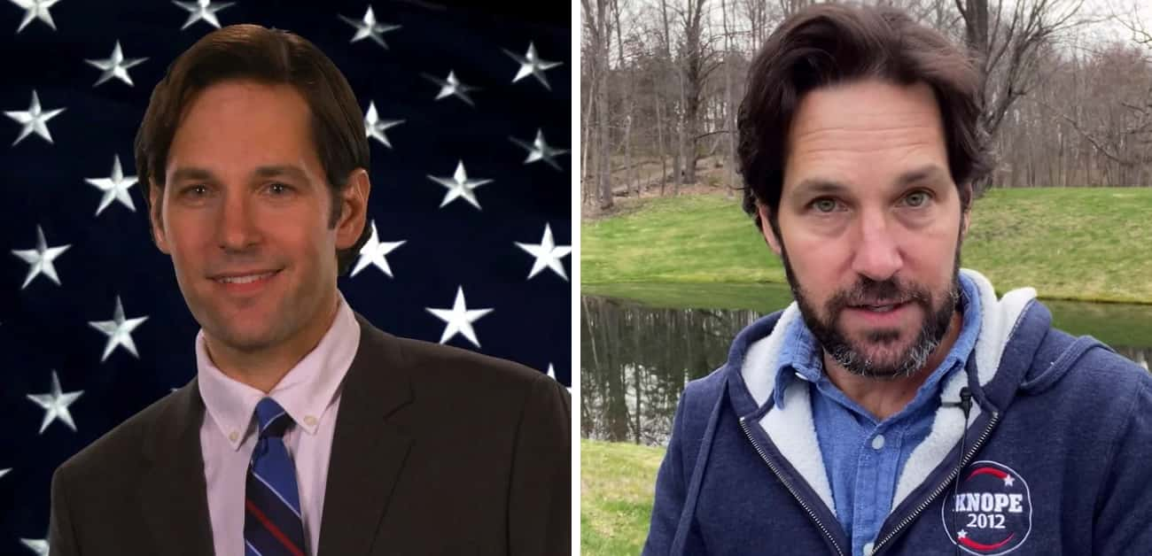 Bobby Newport is listed (or ranked) 4 on the list 'Parks and Recreation' Reunion: Five Years Later