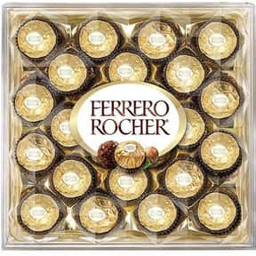 Ferrero is listed (or ranked) 8 on the list The Best Chocolate Companies