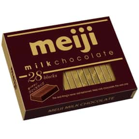 Meiji is listed (or ranked) 20 on the list The Best Chocolate Companies