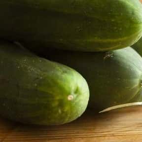 Cucumbers is listed (or ranked) 3 on the list The Best Garden Vegetables to Eat