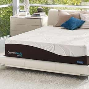 Comforpedic is listed (or ranked) 10 on the list The Best Mattress Brands