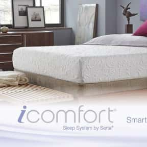 IComfort is listed (or ranked) 15 on the list The Best Mattress Brands