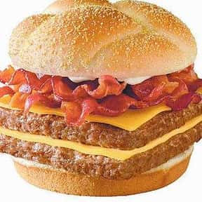 Wendy's Baconator is listed (or ranked) 9 on the list The Best Fast Food Burgers