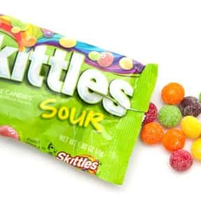 Sour Skittles is listed (or ranked) 2 on the list The Most Delicious Sour Candy