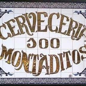100 Montaditos is listed (or ranked) 1 on the list List of Restaurant Companies
