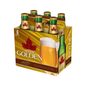 Molson Golden is listed (or ranked) 18 on the list The Best American Domestic Beers