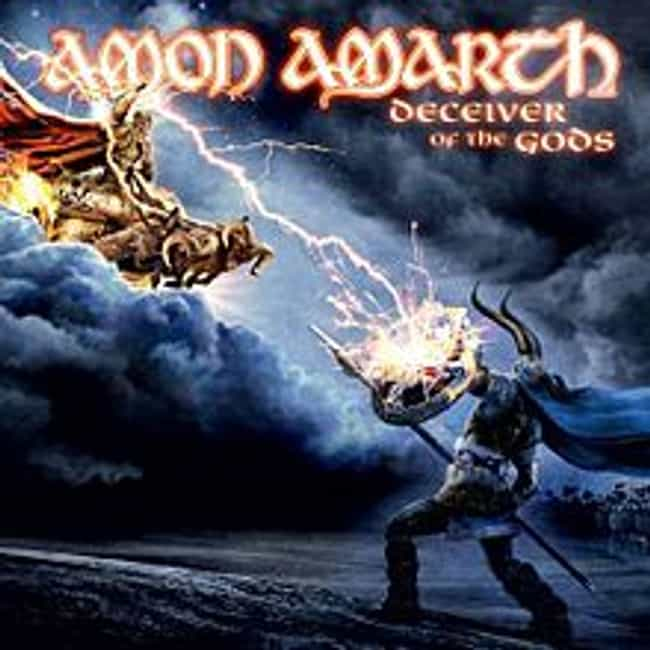 Deceiver of the Gods is listed (or ranked) 4 on the list The Best Amon Amarth Albums of All Time