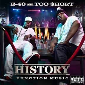 History: Function Music is listed (or ranked) 19 on the list The Best Too $hort Albums of All Time