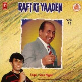 Shradhanjali to Mohd Rafi is listed (or ranked) 13 on the list The Best Sonu Nigam Albums of All Time