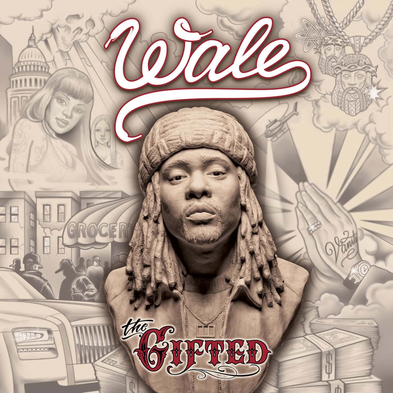 The Gifted is listed (or ranked) 3 on the list The Best Wale Albums, Ranked