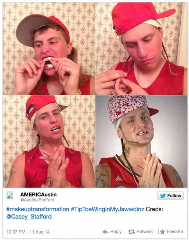 Riff Raff is listed (or ranked) 1 on the list 60+ Unbelievable #MakeupTransformations