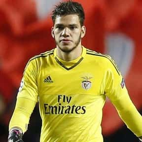 Ederson Santana de Moraes is listed (or ranked) 8 on the list The Best Goalies In The World Right Now