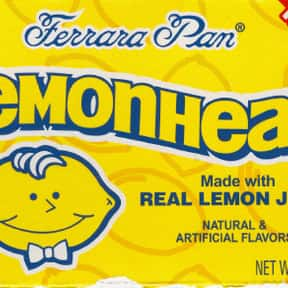 Lemonheads is listed (or ranked) 10 on the list The Most Delicious Sour Candy