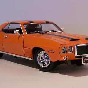 1969 Pontiac Trans Am is listed (or ranked) 12 on the list The Best 1960s Cars