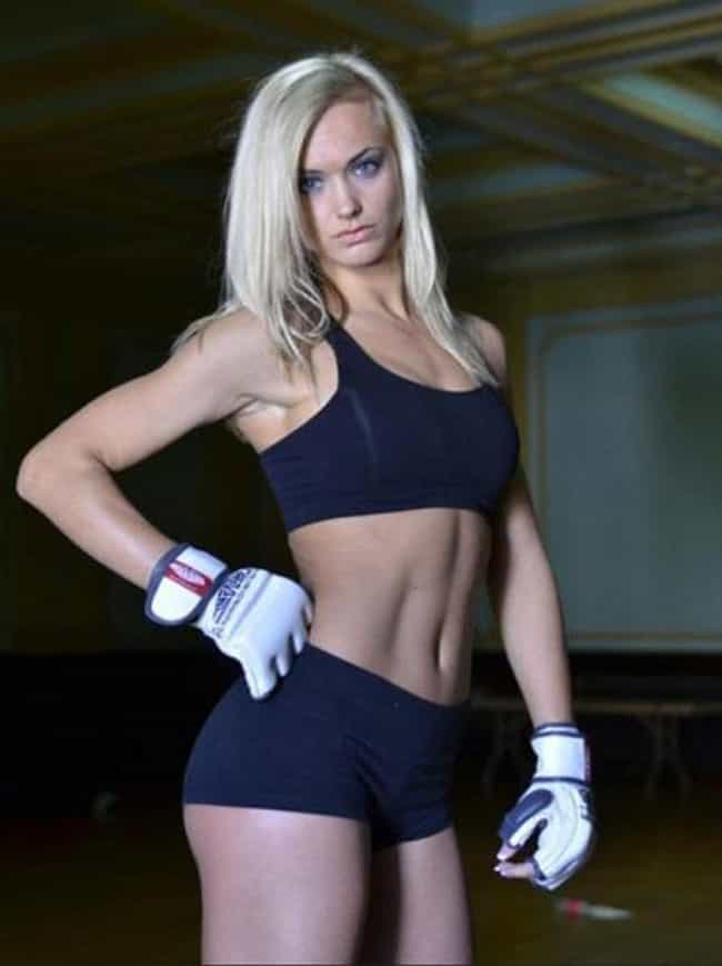 Rachel Wray is listed (or ranked) 4 on the list The Hottest Female Fighters of All Time