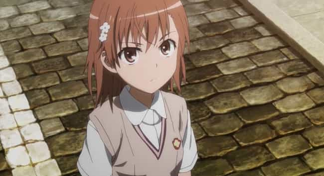 Mikoto Misaka is listed (or ranked) 3 on the list The 20 Greatest Flat Chested Anime Girls of All Time