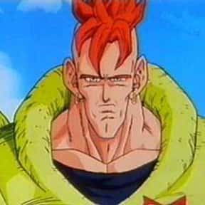 Android 16 is listed (or ranked) 10 on the list The Best Cyborg Anime Characters