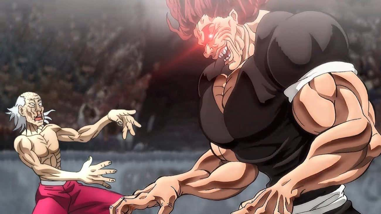 Yujiro Hanma - 'Baki The Grapp is listed (or ranked) 2 on the list The 15 Most Feared Anime Characters of All Time, Ranked