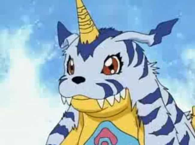 Gabumon is listed (or ranked) 4 on the list The 20 Greatest Digimon Of All Time