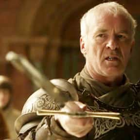 Barristan Selmy is listed (or ranked) 17 on the list The Most Hardcore Game of Thrones Characters