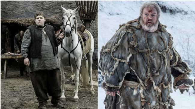 Hodor is listed (or ranked) 4 on the list Game of Thrones Characters When They Were Young