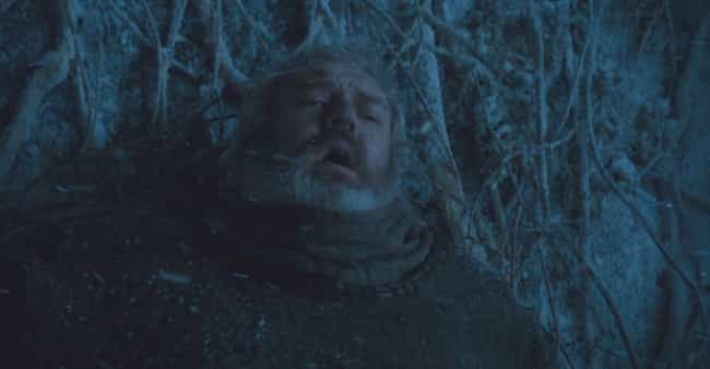 Hodor is listed (or ranked) 2 on the list In Memoriam: 'Game Of Thrones' Characters We Miss The Most