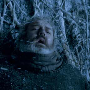 Hodor is listed (or ranked) 7 on the list The Saddest Television Deaths Ever