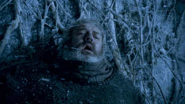 Hodor is listed (or ranked) 3 on the list The Most Memorable Last Words of Game of Thrones Characters