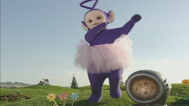 Tinky-Winky is listed (or ranked) 4 on the list Most Beloved Children's Show Mascots