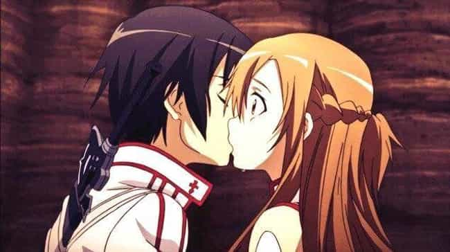 Kirito is listed (or ranked) 3 on the list The 14 Best First Kisses In Anime History