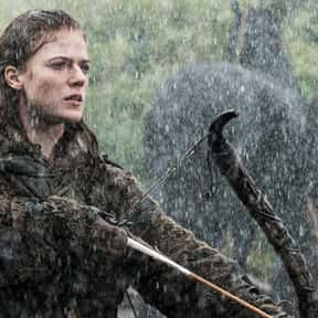 Ygritte is listed (or ranked) 13 on the list The Most Hardcore Game of Thrones Characters