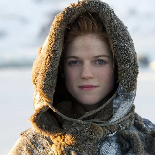 Ygritte is listed (or ranked) 3 on the list All Wildlings on Game of Thrones