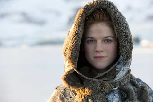 Ygritte is listed (or ranked) 3 on the list The Hottest Female Game of Thrones Characters