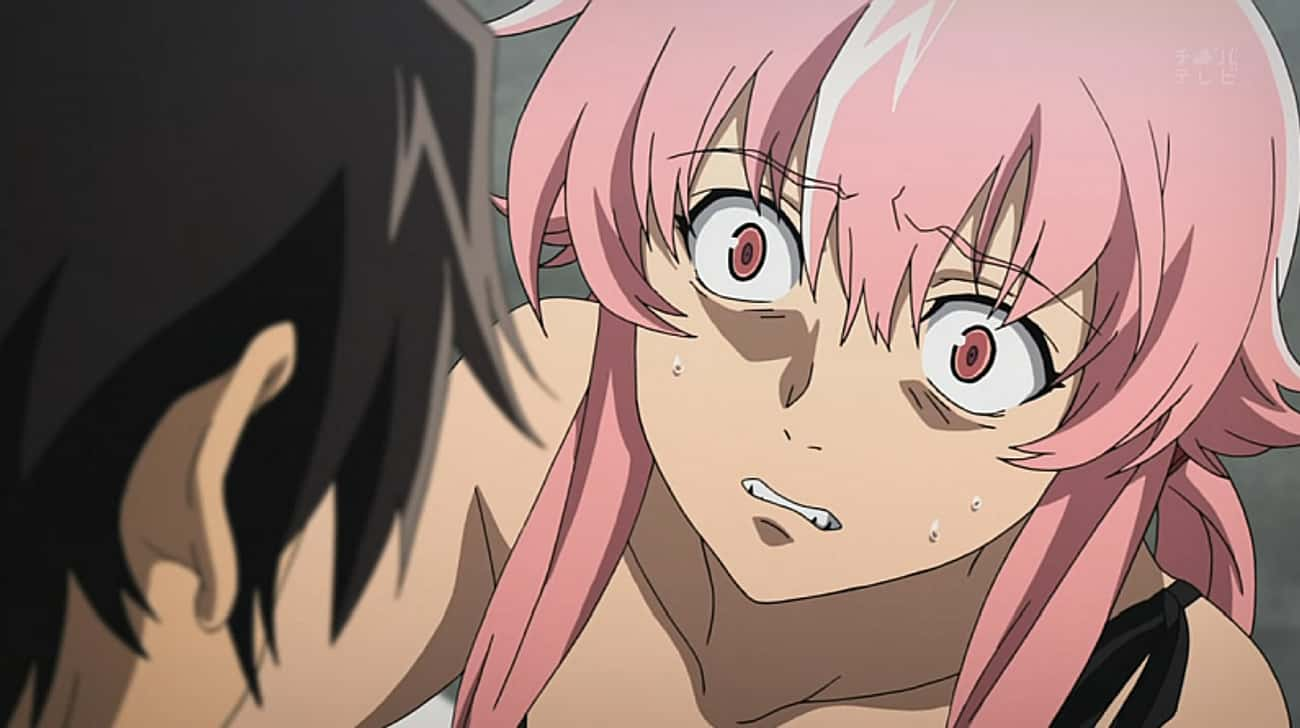 Yuno Gasai Kills Anyone Who Ge is listed (or ranked) 1 on the list 15 Anime Characters With Major Jealousy Issues