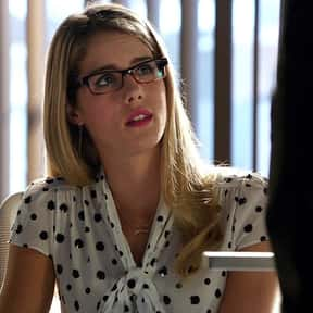 Felicity Smoak is listed (or ranked) 25 on the list The Greatest Geeks in TV History