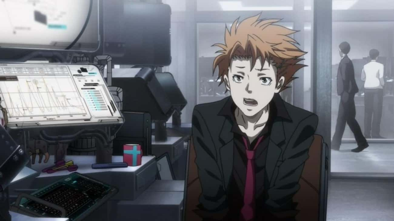 Shuusei Kagari — Psycho-Pass is listed (or ranked) 3 on the list 13 Anime Characters Who Died Too Soon