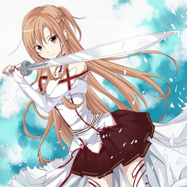 Asuna Is Listed Or Ranked 1 On The List Female Anime Characters You